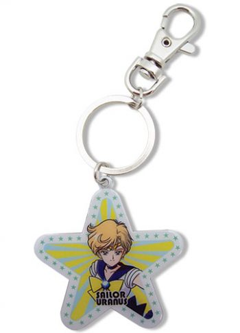 Sailor Uranus Star Metal Keychain