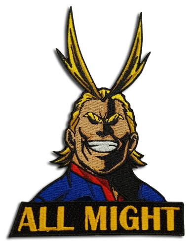 My Hero Academia All Might Patch