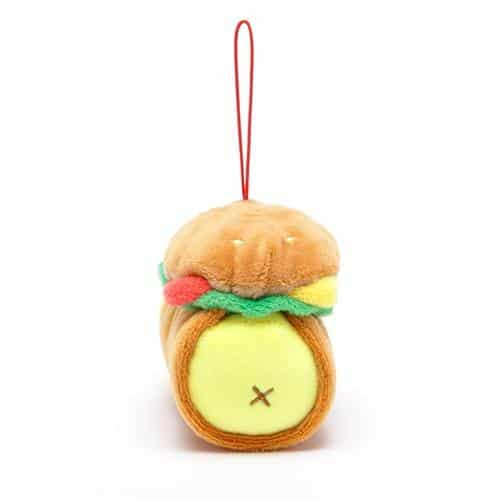 AniRollz Chickiroll Burger Plush Keychain Pose 3