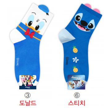 Disney Donald & Stitch Socks