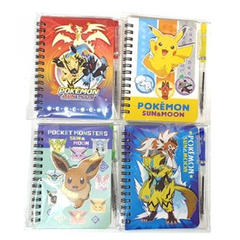 Pokemon Sun & Moon 3D Pen + Notebook Pose 1