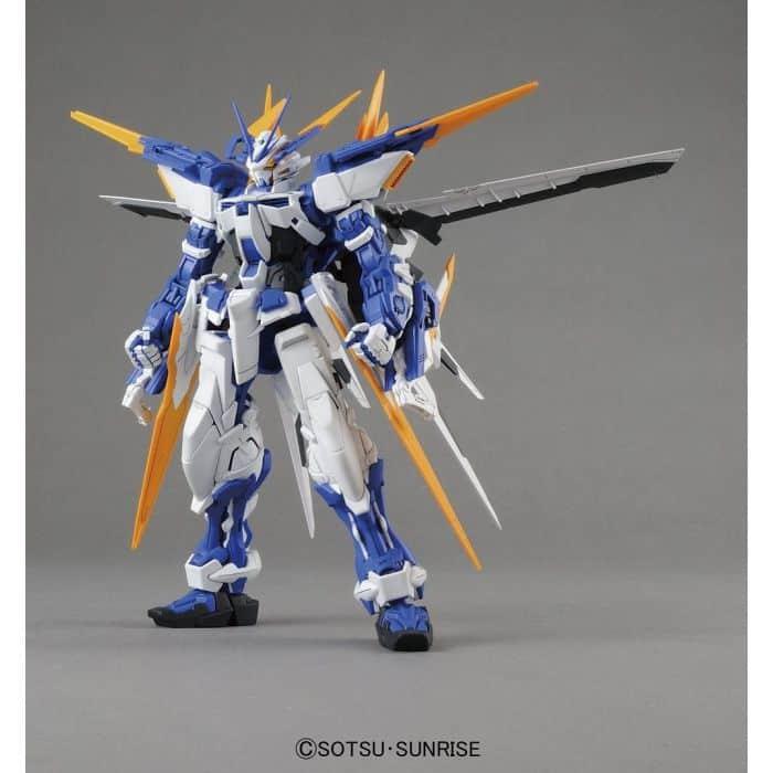 Master Grade Gundam Astray Blue Frame D Pose 1