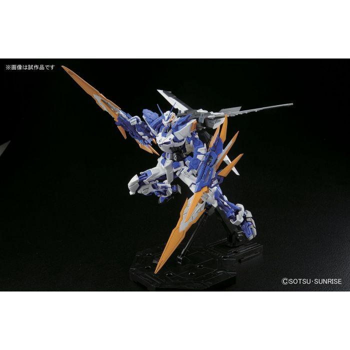 Master Grade Gundam Astray Blue Frame D Pose 3