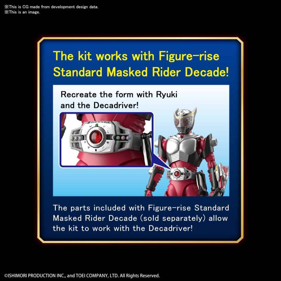 Kamen Rider Ryuki Figure-rise Standard Pose 8