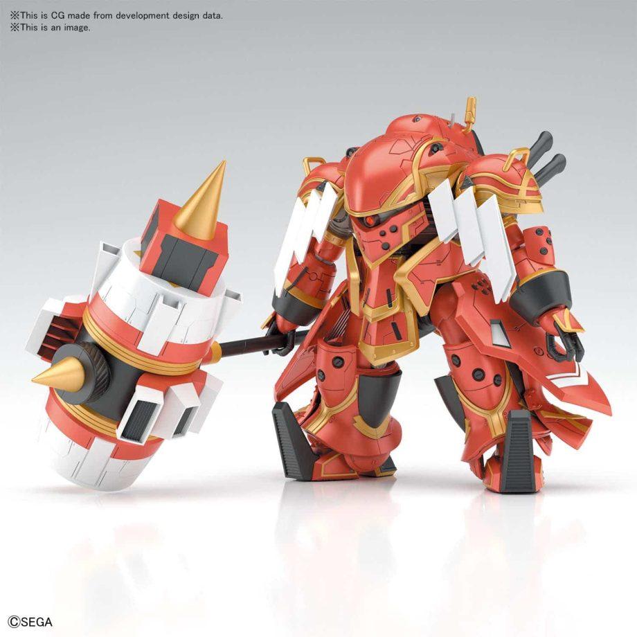 Spiricle Striker Mugen Hatsuho Shinonome Type Pose 1