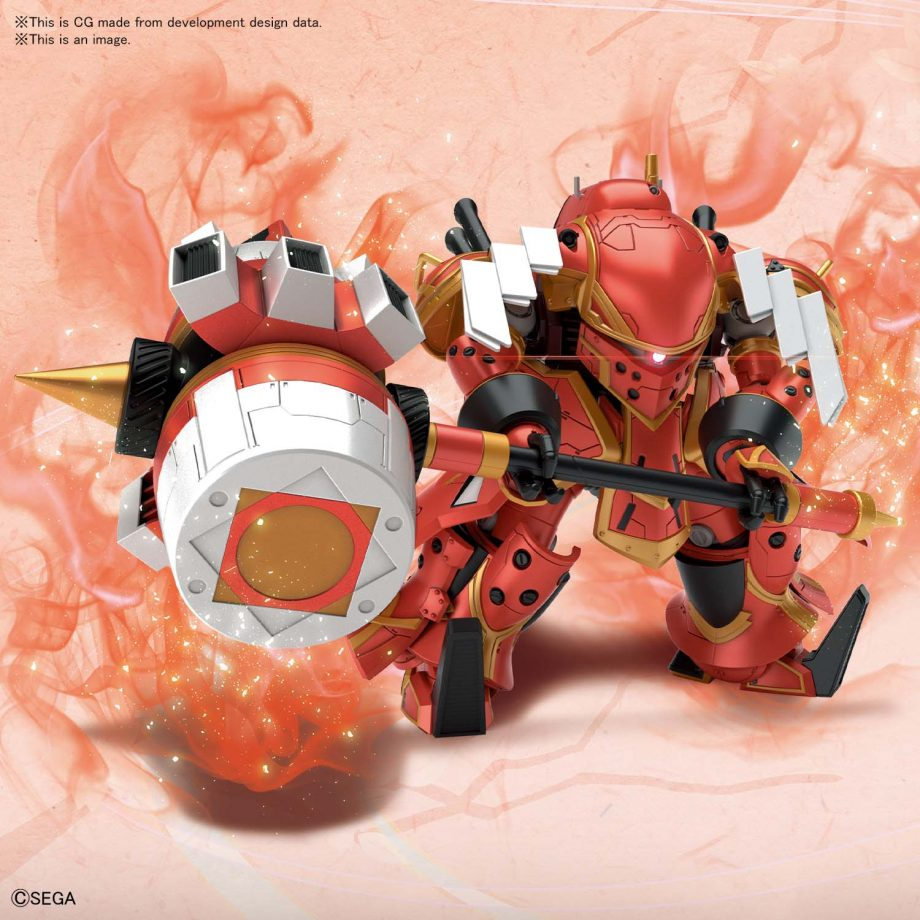 Spiricle Striker Mugen Hatsuho Shinonome Type Pose 3