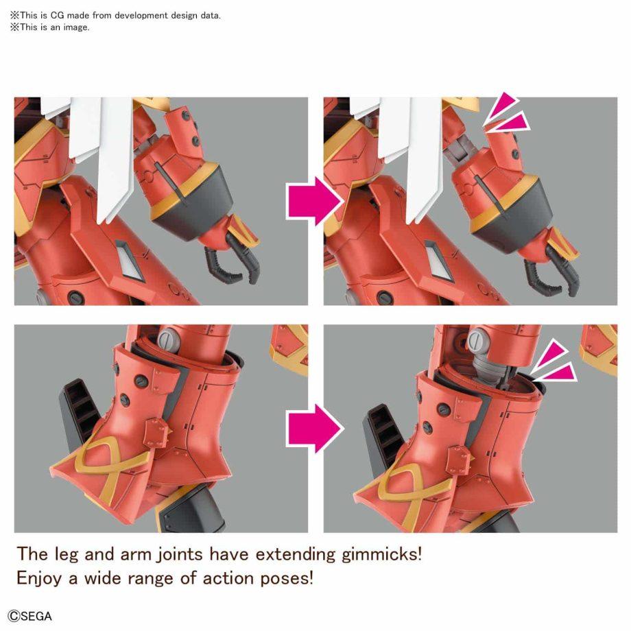 Spiricle Striker Mugen Hatsuho Shinonome Type Pose 4