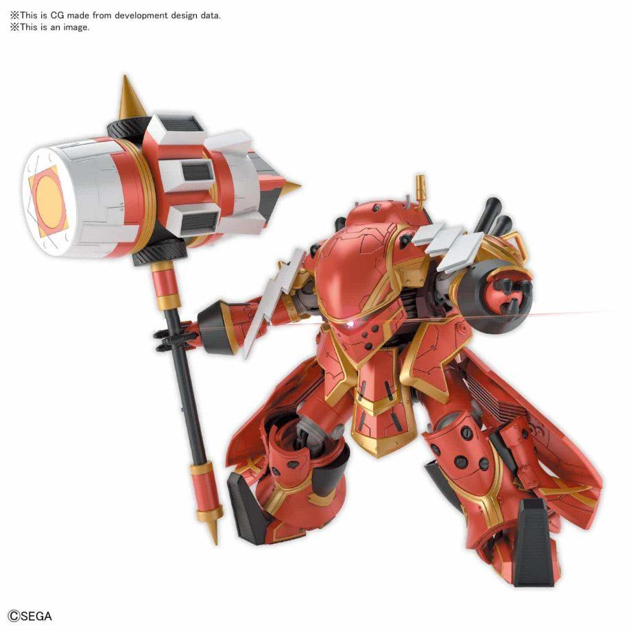 Spiricle Striker Mugen Hatsuho Shinonome Type Pose 6