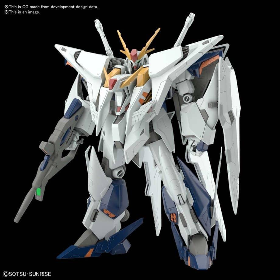 High Grade Xi Gundam VS Penelope Funnel Missle Effect Set Pose 5