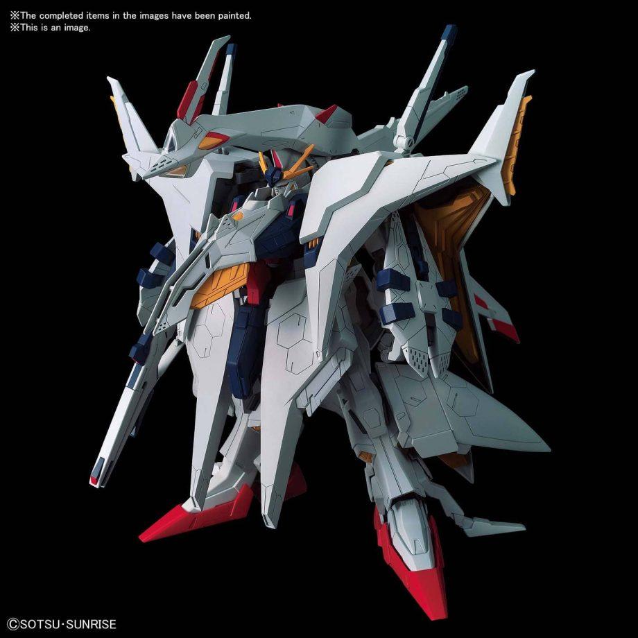 High Grade Xi Gundam VS Penelope Funnel Missle Effect Set Pose 6