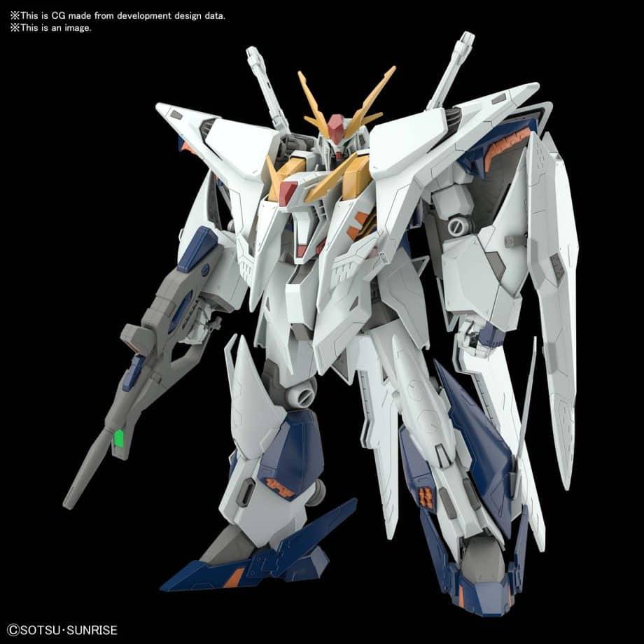 High Grade XI Gundam Pose 1
