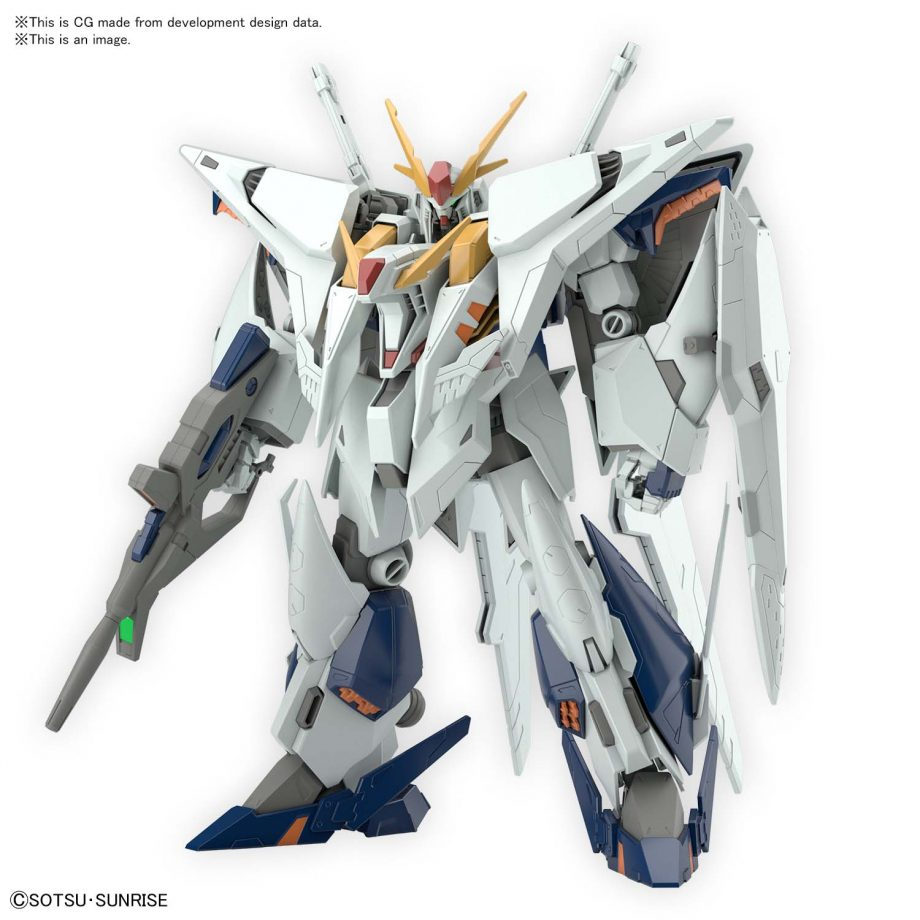 High Grade XI Gundam Pose 2
