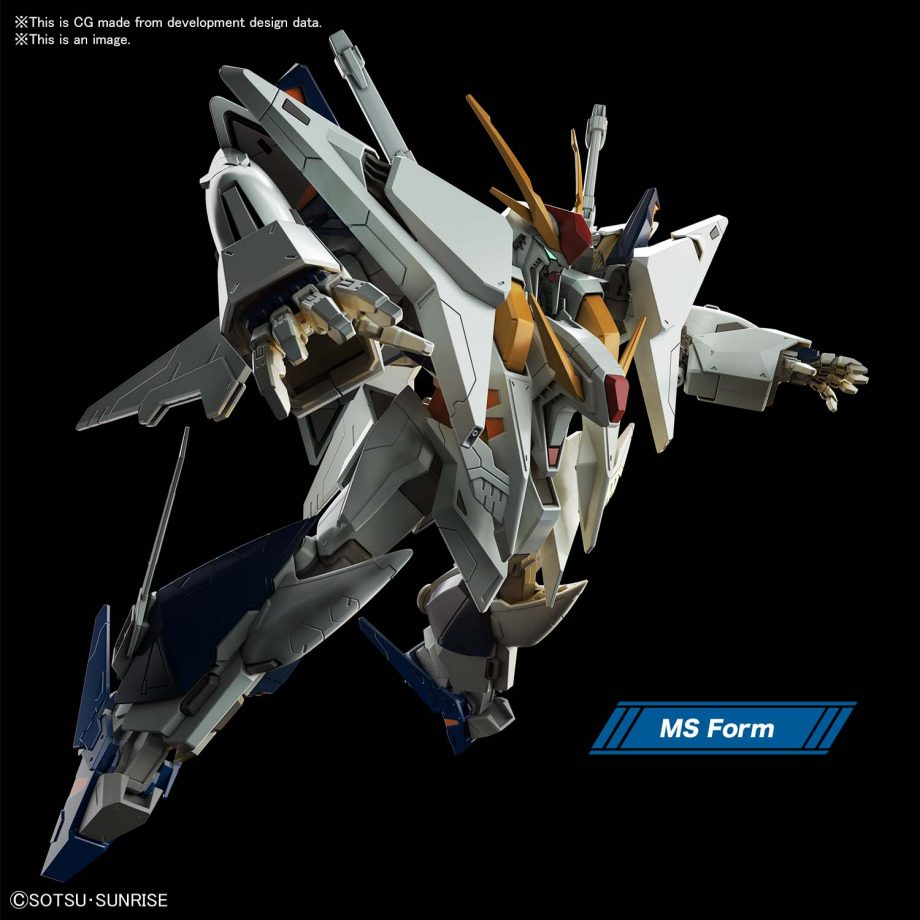 High Grade XI Gundam Pose 4