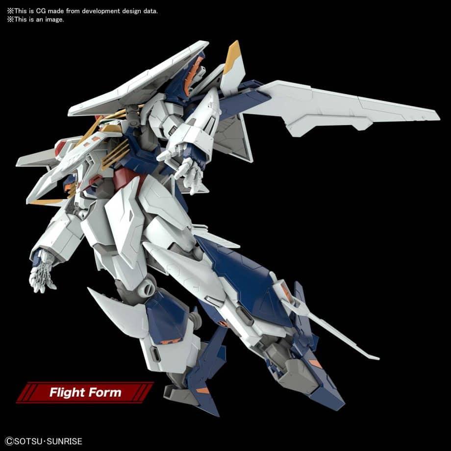High Grade XI Gundam Pose 5