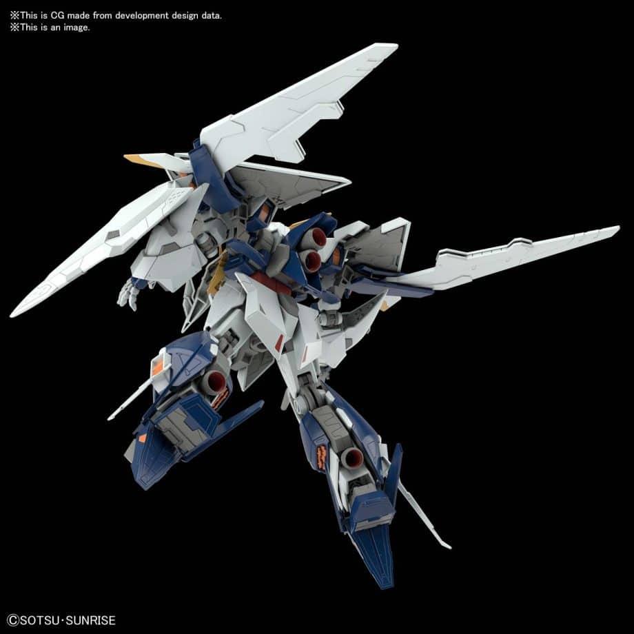 High Grade XI Gundam Pose 6