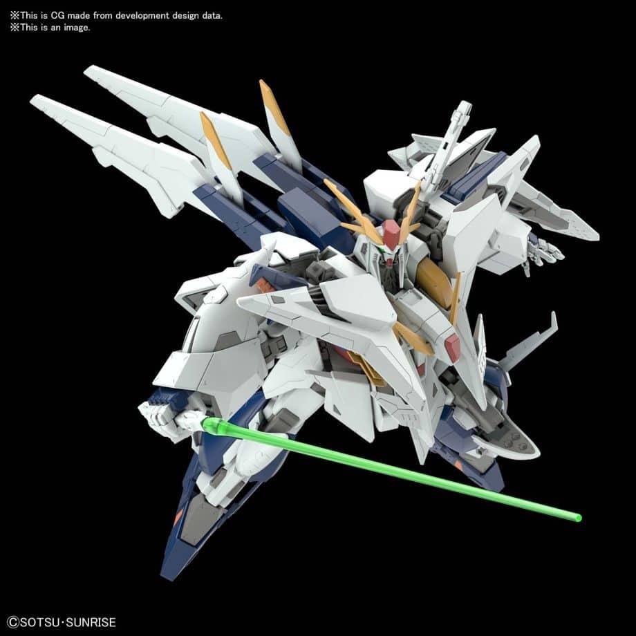 High Grade XI Gundam Pose 7
