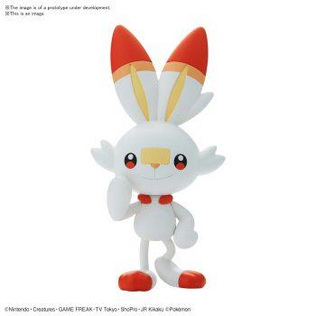 Pokemon Model Kit Quick!! Scorbunny Pose 1