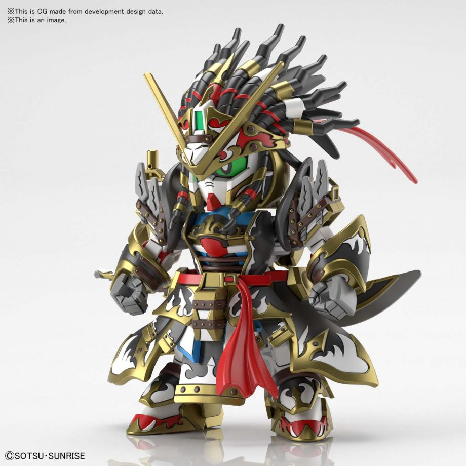 Gundam World Heroes Edward Second V Pose 1
