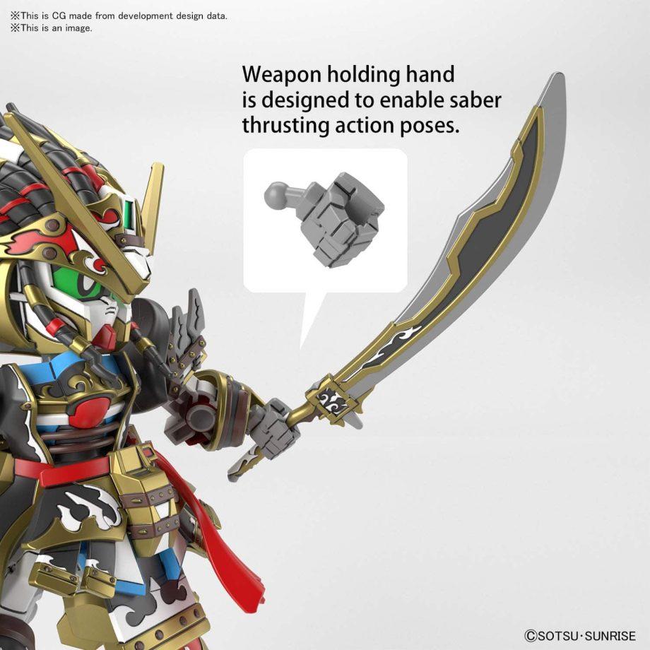 Gundam World Heroes Edward Second V Pose 6