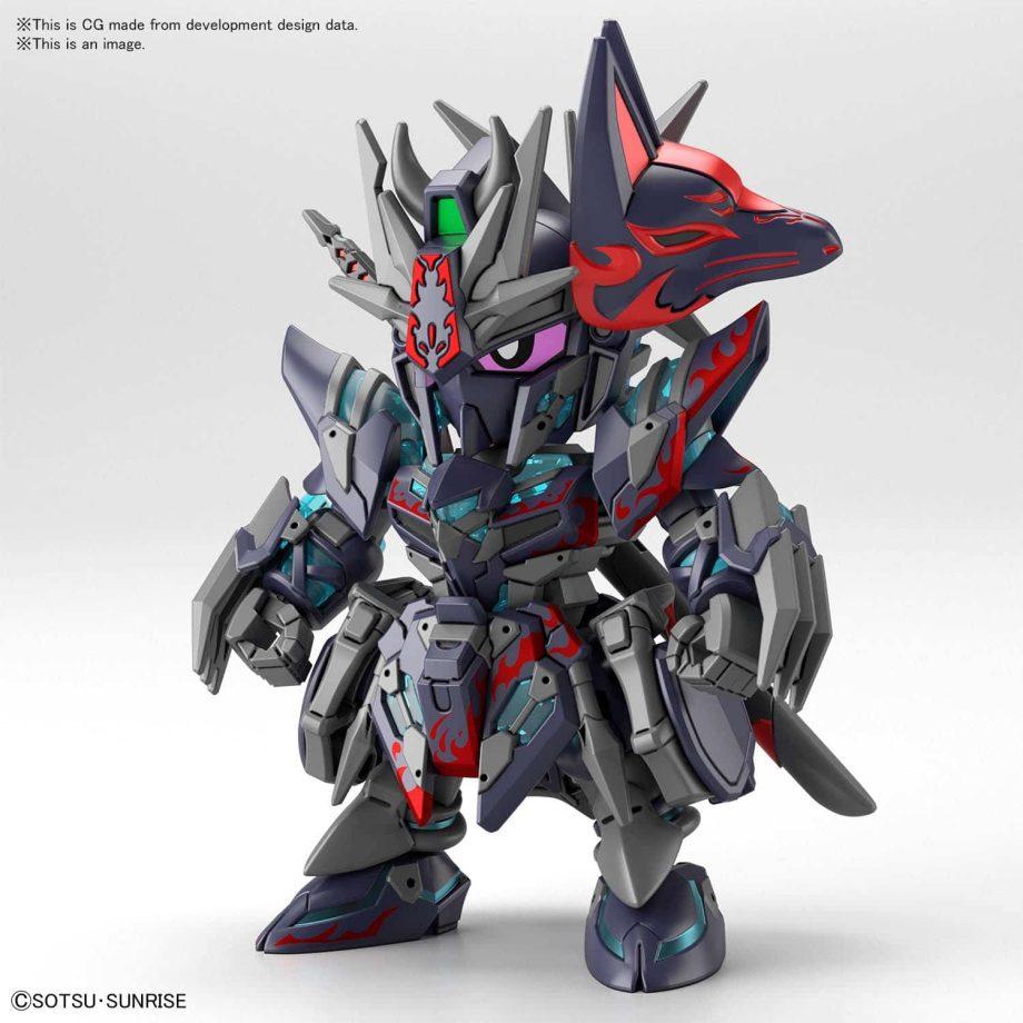 World Heroes Sasuke Delta Gundam Pose 1