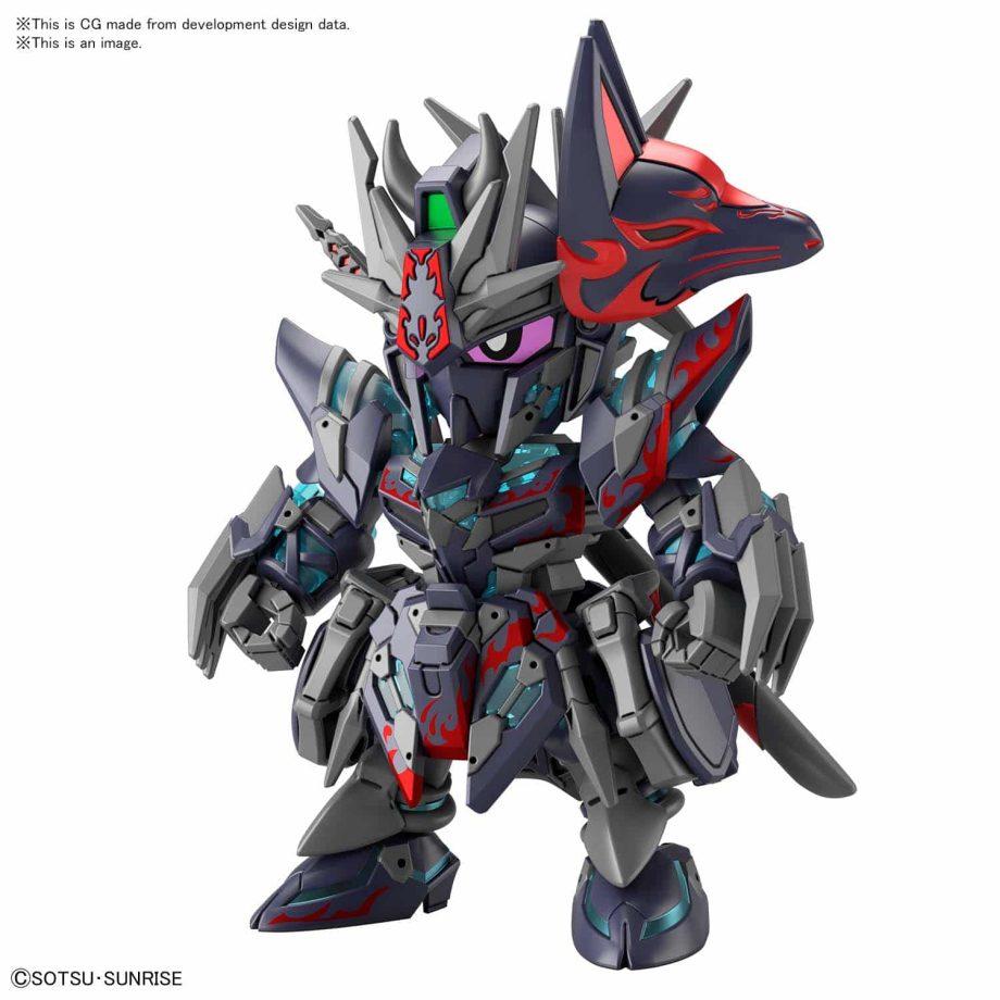 World Heroes Sasuke Delta Gundam Pose 2