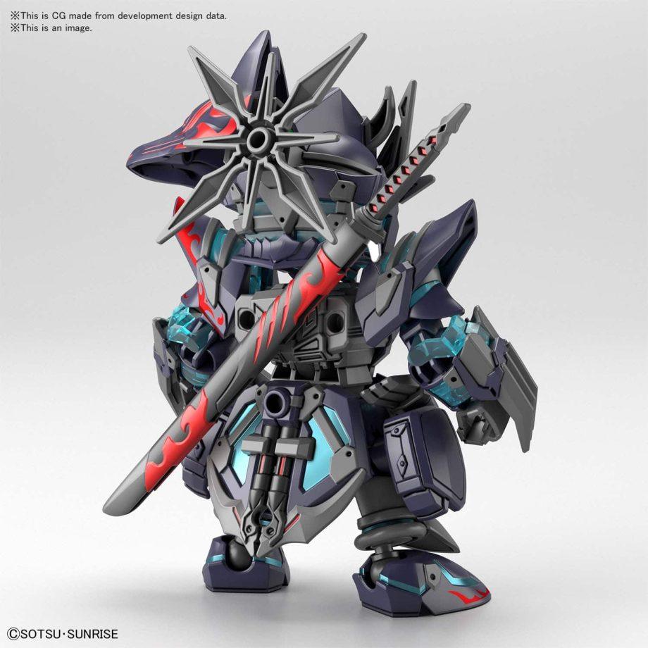 World Heroes Sasuke Delta Gundam Pose 3