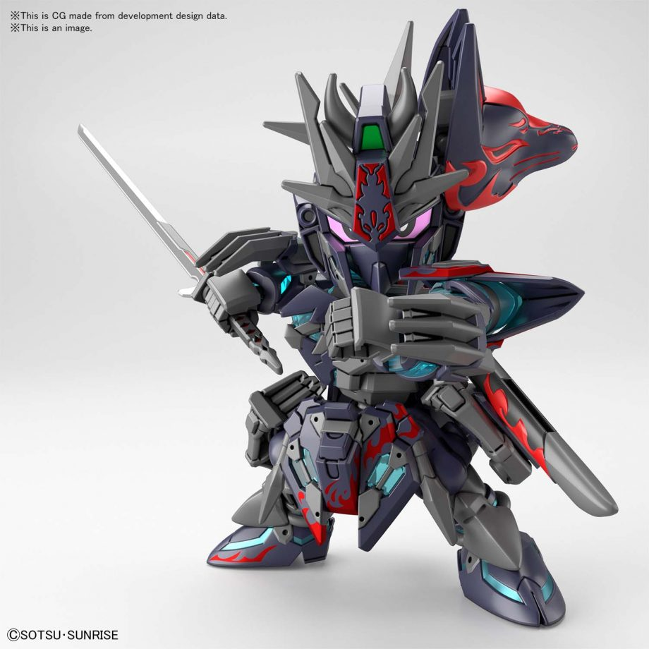World Heroes Sasuke Delta Gundam Pose 4
