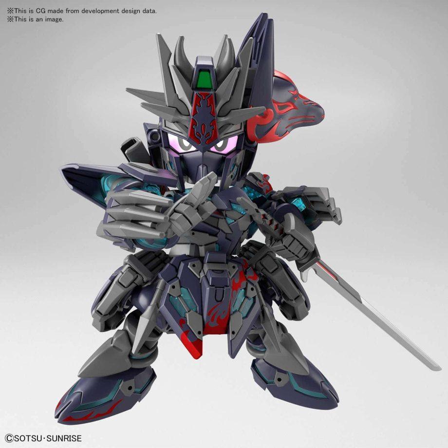 World Heroes Sasuke Delta Gundam Pose 5