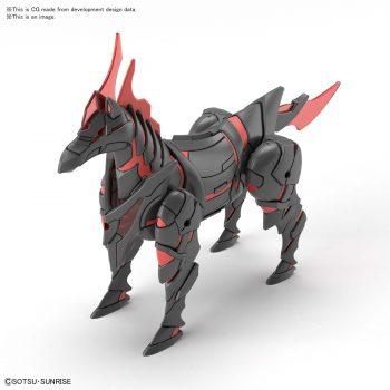 Gundam World Heroes War Horse Pose 1