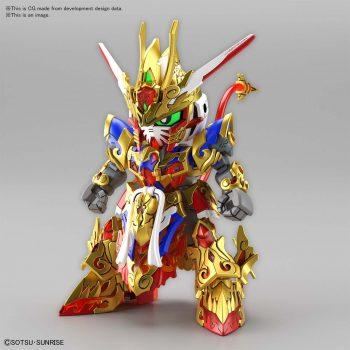 Gundam World Heroes Wukong Impulse Gundam Pose 1