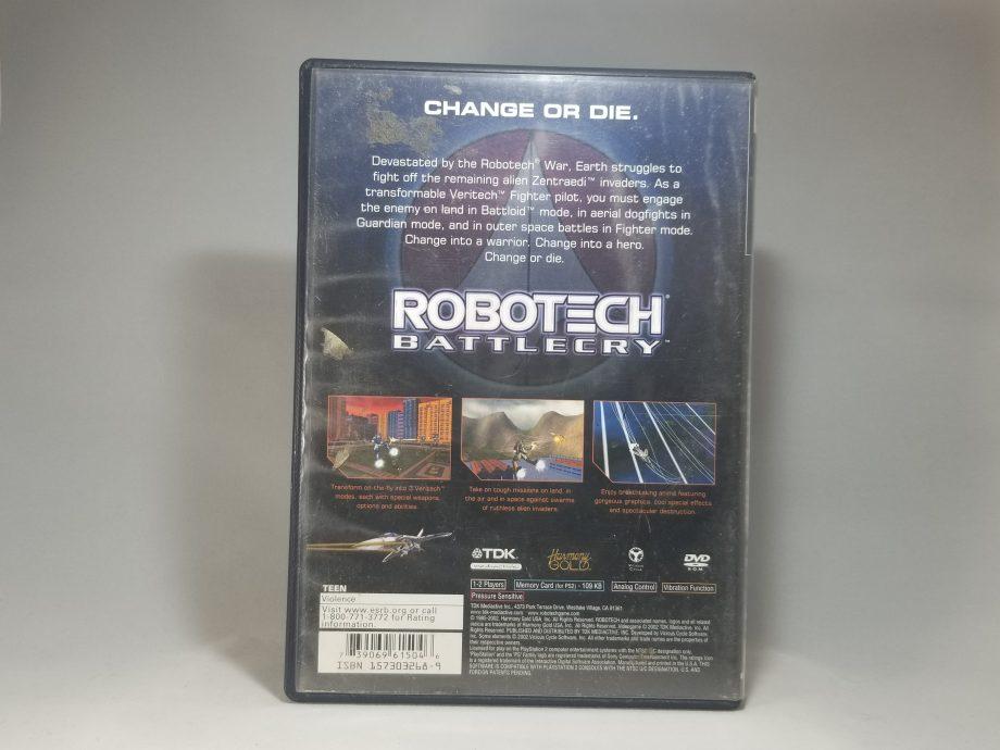 Robotech Battlecry Back
