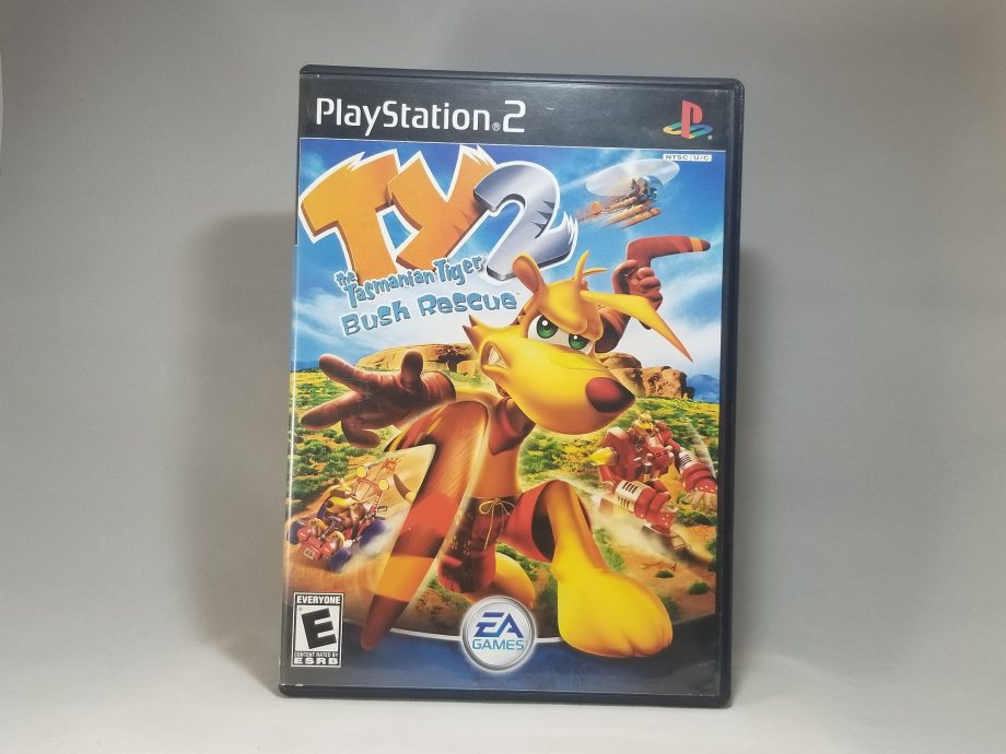 Ty The Tasmanian Tiger 2 Bush Rescue Front
