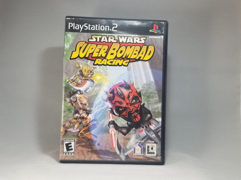Star Wars Super Bombad Racing Front