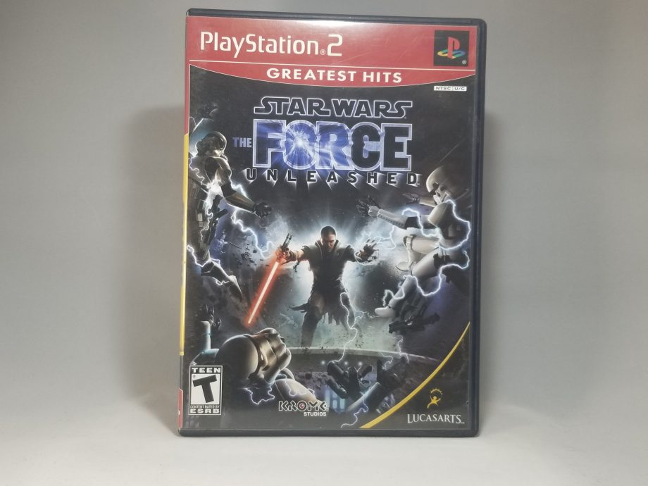 Star Wars The Force Unleashed Front