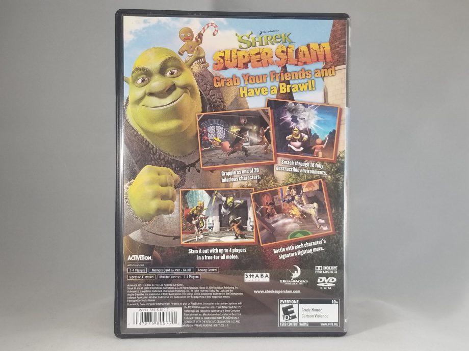 Shrek Superslam Back