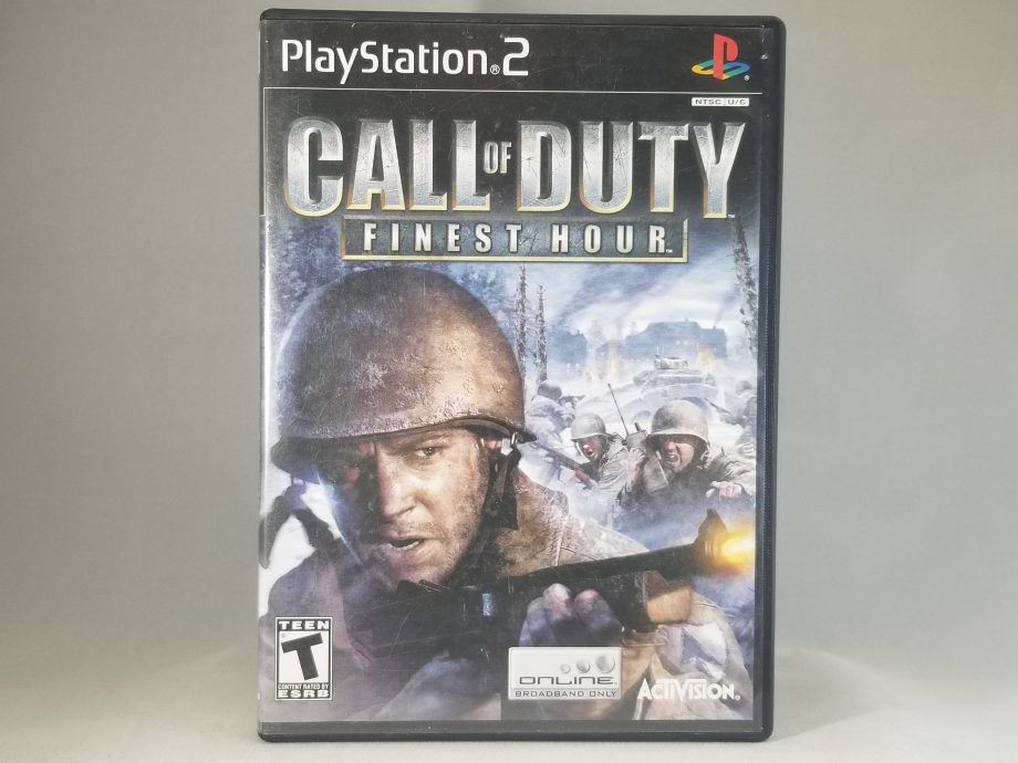 Call Of Duty Finest Hour Front