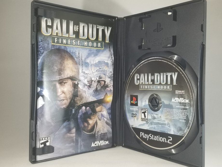 Call Of Duty Finest Hour Disc