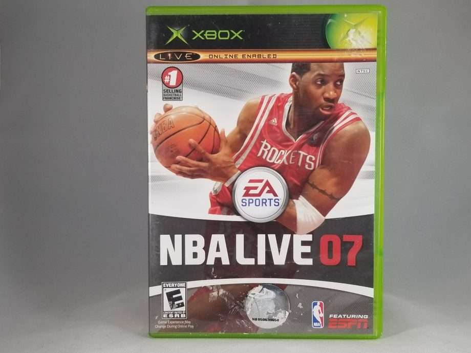 NBA Live 07 Front