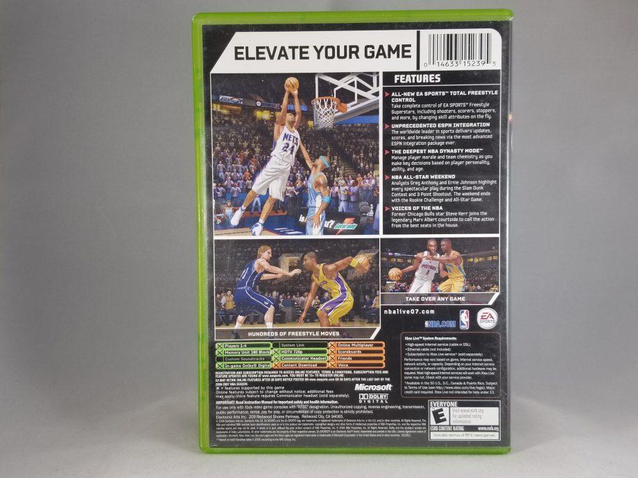 NBA Live 07 Back