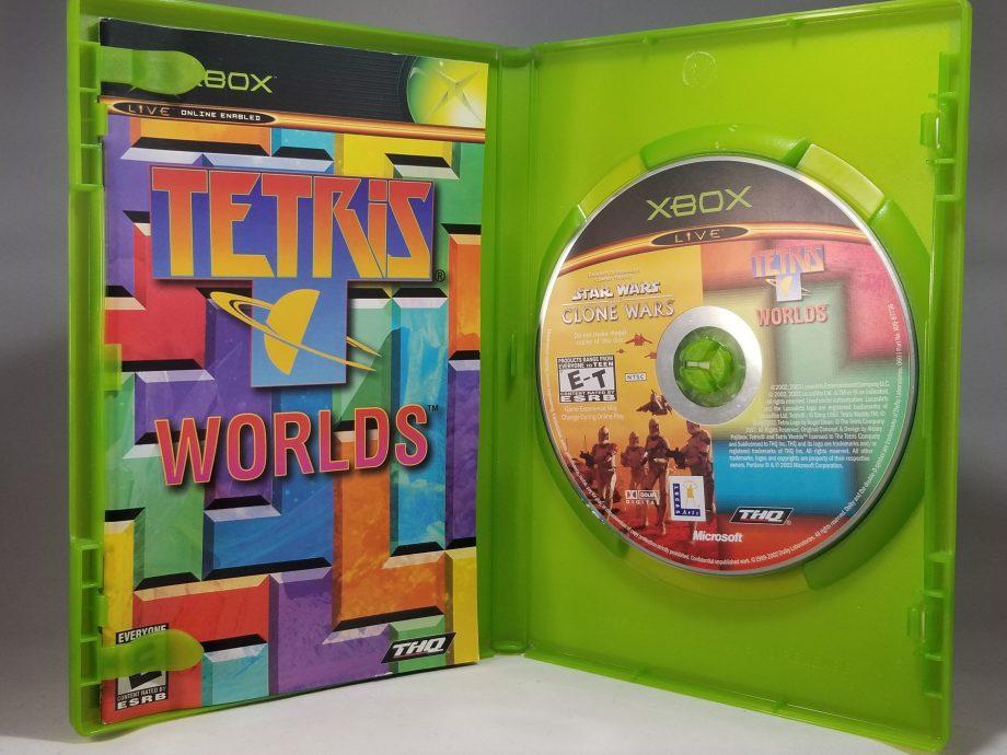 Star Wars The Clone Wars & Tetris Worlds Disc