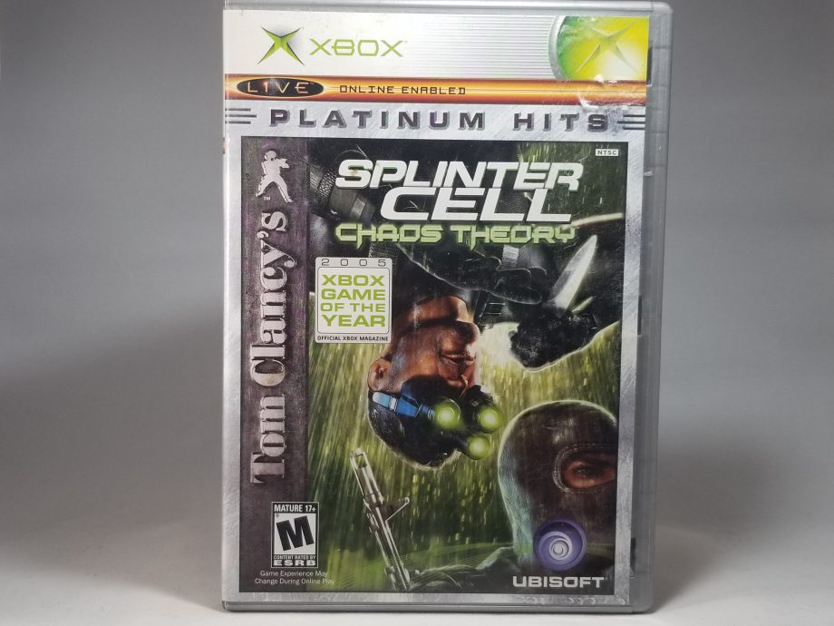 Splinter Cell Chaos Theory Front
