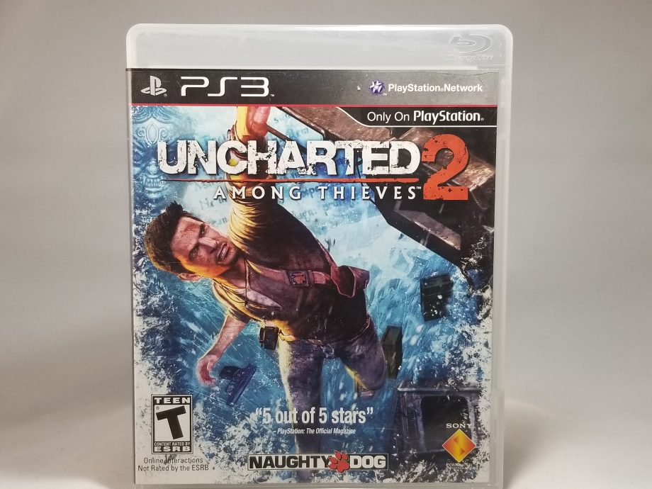 Uncharted 2 Among Thieves Front