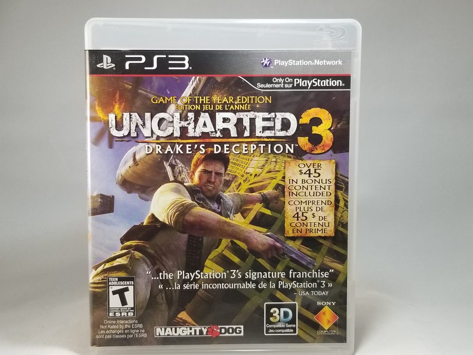Uncharted 3 Drake's Deception Front