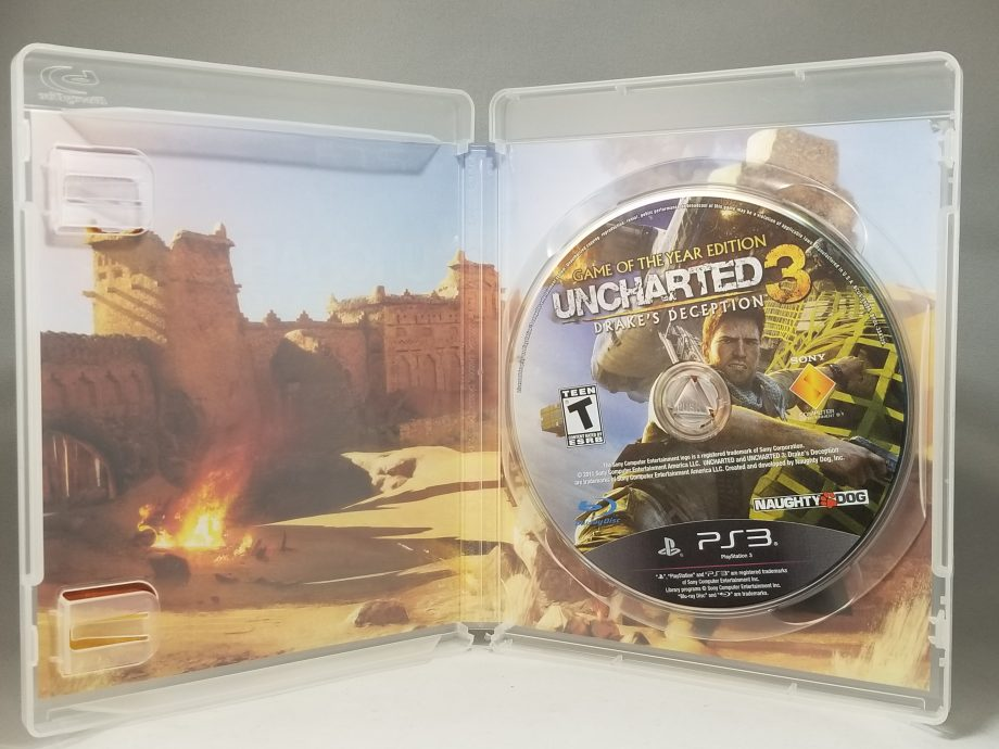 Uncharted 3 Drake's Deception Disc