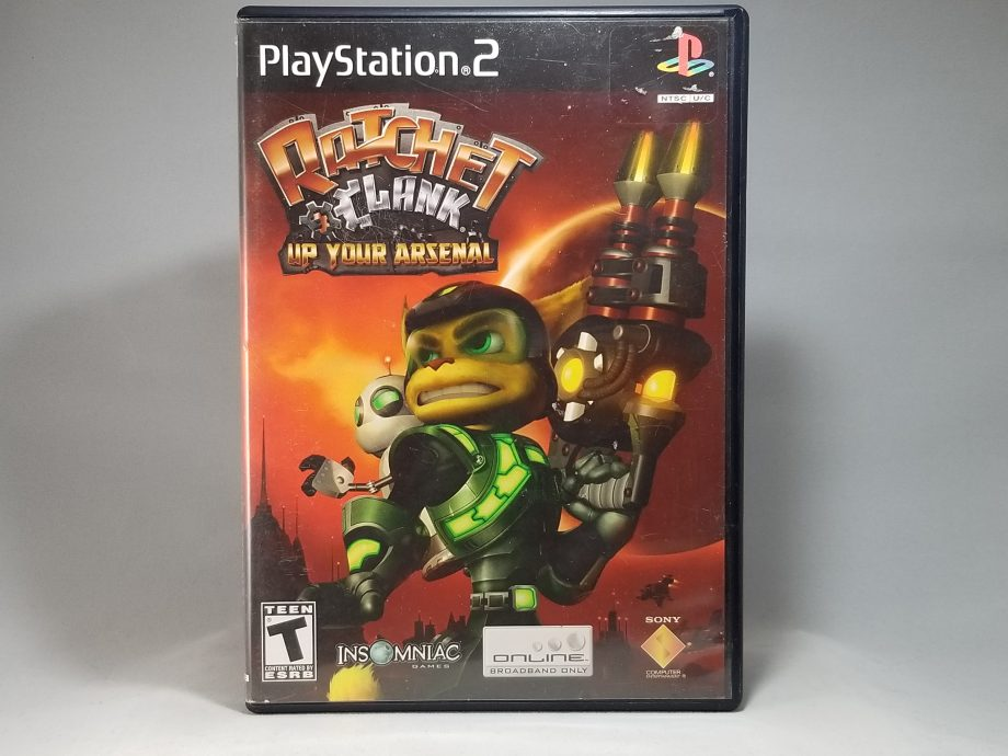 Ratchet & Clank Up Your Arsenal Front