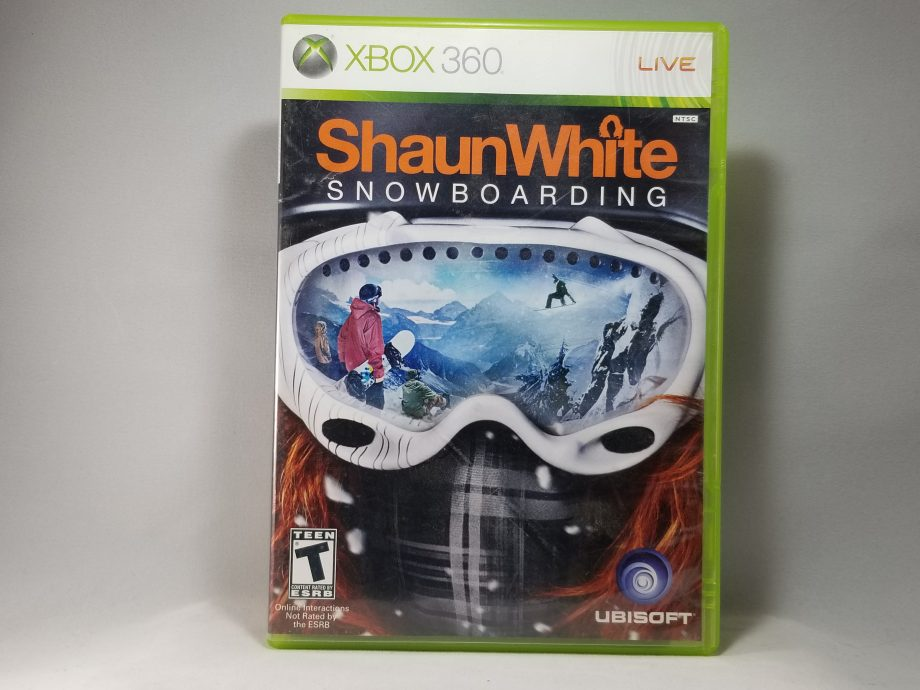 Shaun White Snowboarding Front