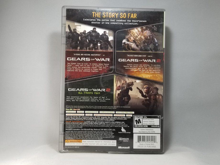 Gears Of War Triple Pack Back