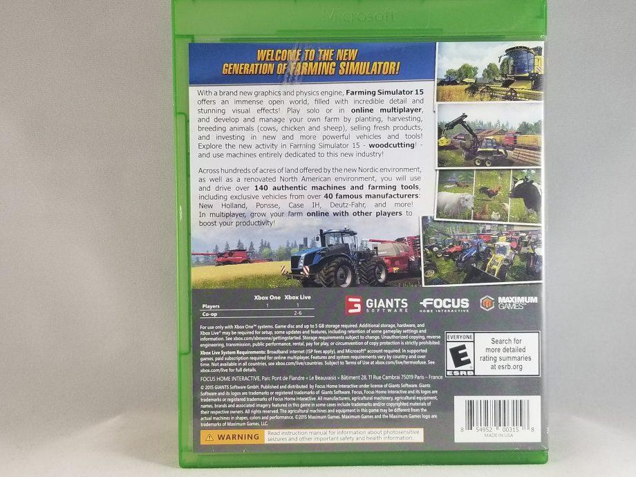 Farming Simulator 15 Back