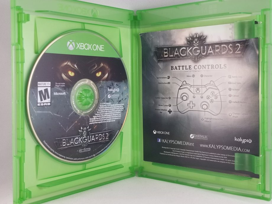 Blackguards 2 Disc