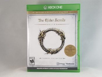 The Elder Scrolls Online Tamriel Unlimited Front